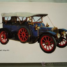 Postales: POSTAL COCHES ANTIGUOS MOD. C-8 / COCHE *VAUXHALL 1911* / CAJA PENSIONES VEJEZ / IMPECABLE. Lote 45859160