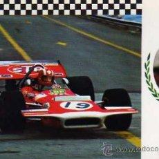 Postales: GRAN PRIX Nº 15 MARCH 701 F.1 MOTOR FORD V-8 ESCUDO DE ORO SIN CIRCULAR . Lote 35772708