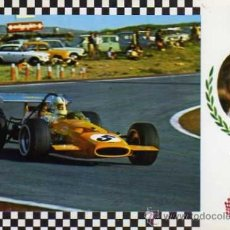 Postales: SERIE GRAN PRIX Nº21 MAC LAREN F.1 MOTOR FORD V-8 ESCUDO DE ORO SIN CIRCULAR . Lote 35772717