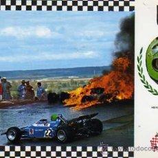 Postales: SERIE GRAN PRIX Nº 23 MATRA MS120 F.1 MOTOR MATRA V-12 ESCUDO DE ORO SIN CIRCULAR . Lote 35772736