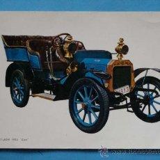 """Postales: POSTAL DE COCHES. AÑO 1966. COCHE PEUGEOT LION DE 1903 """"CLEO"""". 259 . Lote 35905686"""