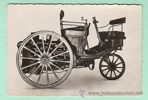 PRIMER AUTOMOVIL A VAPOR DE SERPOLLET DE 1886 (Postales - Postales Temáticas - Coches y Automóviles)