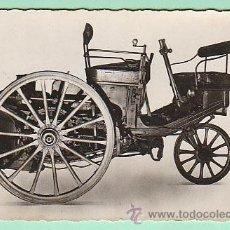 Postales: PRIMER AUTOMOVIL A VAPOR DE SERPOLLET DE 1886. Lote 36923938