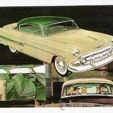 Postales: POSTAL COCHE CHEVROLET BEL AIR. Lote 37045599