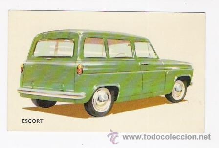 POSTAL COCHE ESCORT (Postales - Postales Temáticas - Coches y Automóviles)