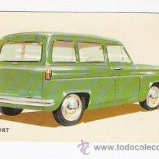 Postales: POSTAL COCHE ESCORT. Lote 37045615