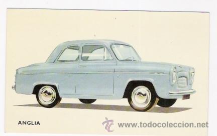 POSTAL COCHE ANGLIA (Postales - Postales Temáticas - Coches y Automóviles)