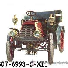 Postales: ANTIGUA POSTAL COCHE ANTIGUO - DURKOPP 8 H.P. 1901 - (AÑOS 60) A ESTRENAR. Lote 38425062