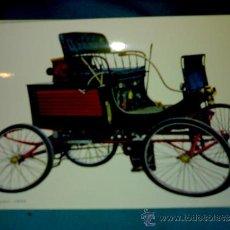 Postales: ANTIGUA POSTAL COCHE ANTIGUO - STANLEY LOCOMOBIL 1899 - (AÑOS 60) A ESTRENAR. Lote 38425071