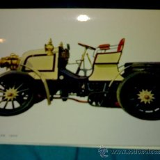 Postales: ANTIGUA POSTAL COCHE ANTIGUO - CANNSTATT DAIMLER 1899 - (AÑOS 60) A ESTRENAR. Lote 38425077