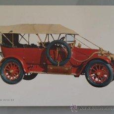 Postales: POSTAL DE COCHES. COCHE CLÁSICO. ITALIA 1912 25/35 HP. 1773. . Lote 38483780