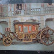 Postales: POSTAL COCHE DE CABALLOS MUSEO NACIONAL DE COCHES DE LISBOA .PORTUGAL. BILHETE POSTAL. Lote 39651741
