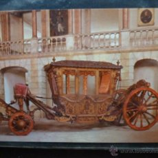 Postales: POSTAL COCHE DE CABALLOS MUSEO NACIONAL DE COCHES DE LISBOA .PORTUGAL. BILHETE POSTAL. Lote 39651747
