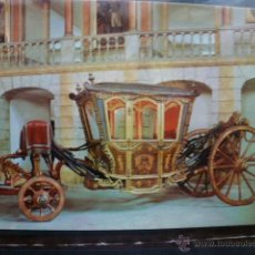 Postales: POSTAL COCHE DE CABALLOS MUSEO NACIONAL DE COCHES DE LISBOA .PORTUGAL. BILHETE POSTAL. Lote 39651755