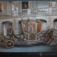 Postales: POSTAL COCHE DE CABALLOS MUSEO NACIONAL DE COCHES DE LISBOA .PORTUGAL. BILHETE POSTAL. Lote 39651767
