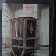 Postales: POSTAL COCHE DE CABALLOS MUSEO NACIONAL DE COCHES DE LISBOA .PORTUGAL. BILHETE POSTAL. Lote 39651826