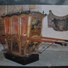 Postales: POSTAL COCHE DE CABALLOS MUSEO NACIONAL DE COCHES DE LISBOA .PORTUGAL. BILHETE POSTAL. Lote 39651839