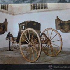 Postales: POSTAL COCHE DE CABALLOS MUSEO NACIONAL DE COCHES DE LISBOA .PORTUGAL. BILHETE POSTAL. Lote 39651854