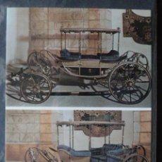 Postales: POSTAL COCHE DE CABALLOS MUSEO NACIONAL DE COCHES DE LISBOA .PORTUGAL. BILHETE POSTAL. Lote 39651860