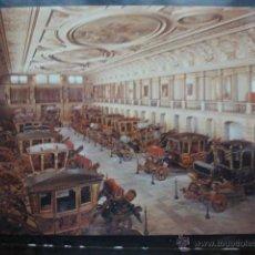 Postales: POSTAL COCHE DE CABALLOS MUSEO NACIONAL DE COCHES DE LISBOA .PORTUGAL. BILHETE POSTAL. Lote 39651878