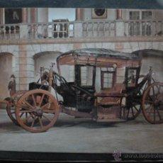 Postales: POSTAL COCHE DE CABALLOS MUSEO NACIONAL DE COCHES DE LISBOA .PORTUGAL. BILHETE POSTAL. Lote 39651885