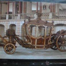Postales: POSTAL COCHE DE CABALLOS MUSEO NACIONAL DE COCHES DE LISBOA .PORTUGAL. BILHETE POSTAL. Lote 39651892