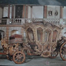 Postales: POSTAL COCHE DE CABALLOS MUSEO NACIONAL DE COCHES DE LISBOA .PORTUGAL. BILHETE POSTAL. Lote 39651899
