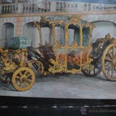 Postales: POSTAL COCHE DE CABALLOS MUSEO NACIONAL DE COCHES DE LISBOA .PORTUGAL. BILHETE POSTAL. Lote 39651930