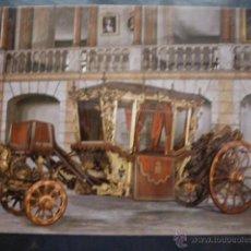 Postales: POSTAL COCHE DE CABALLOS MUSEO NACIONAL DE COCHES DE LISBOA .PORTUGAL. BILHETE POSTAL. Lote 39651948