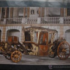 Postales: POSTAL COCHE DE CABALLOS MUSEO NACIONAL DE COCHES DE LISBOA .PORTUGAL. BILHETE POSTAL. Lote 39651958