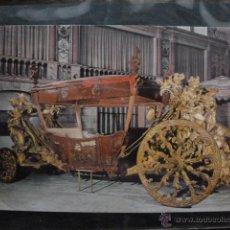 Postales: POSTAL COCHE DE CABALLOS MUSEO NACIONAL DE COCHES DE LISBOA .PORTUGAL. BILHETE POSTAL. Lote 39651963