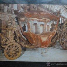 Postales: POSTAL COCHE DE CABALLOS MUSEO NACIONAL DE COCHES DE LISBOA .PORTUGAL. BILHETE POSTAL. Lote 39651969