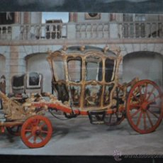 Postales: POSTAL COCHE DE CABALLOS MUSEO NACIONAL DE COCHES DE LISBOA .PORTUGAL. BILHETE POSTAL. Lote 39652038