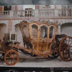 Postales: POSTAL COCHE DE CABALLOS MUSEO NACIONAL DE COCHES DE LISBOA .PORTUGAL. BILHETE POSTAL. Lote 39652053