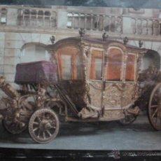 Postales: POSTAL COCHE DE CABALLOS MUSEO NACIONAL DE COCHES DE LISBOA .PORTUGAL. BILHETE POSTAL. Lote 39652064