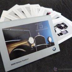 Postales: POSTALES AUTOS CLÁSICOS BMW. Lote 39855633