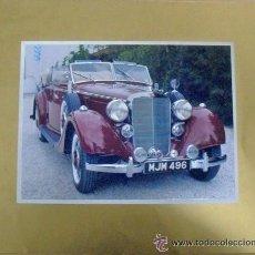 Postales: POSTAL DE COCHE ANTIGUO MERCEDES,. Lote 40184963