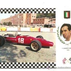 Postales: POSTAL SERIE GRAN PRIX F-1 Nº 9 – FERRARI 67 – LORENZO BANDINI (ITALIA). Lote 40238522