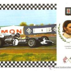 Postales: POSTAL SERIE GRAN PRIX F-1 Nº 13 – LOTUS 49C – GRAHAM HILL (GRAN BRETAÑA). Lote 40238699