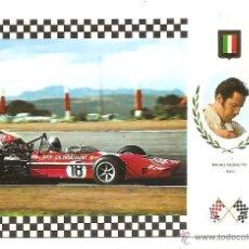 Postales: POSTAL SERIE GRAN PRIX F-1 Nº 22 – MARCH 701 FORD – MARIO ANDRETTI (ITALIA). Lote 40239271