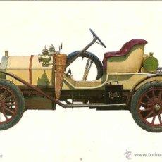 Postales: COCHE HUMBER 8 H. P. 1909 - C. Y Z. Nº 6829 - ESCCRITA. Lote 42410811