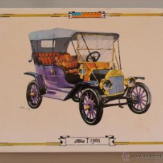 Postales: POSTAL DE COCHES MOTOS. AÑO 1964. FORD T 1908. 1721. Lote 43227841