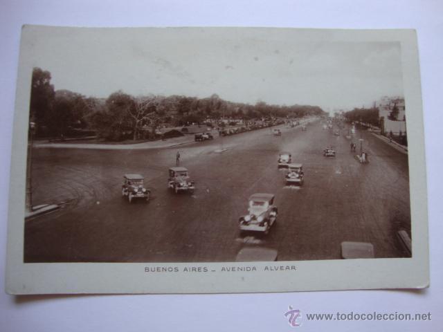 ANTIGUA TARJETA POSTAL COCHE COCHES BUENOS AIRES, ARGENTINA. LOTCRE250. (Postales - Postales Temáticas - Coches y Automóviles)