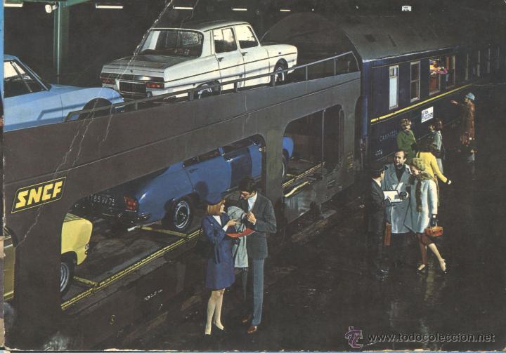 TREN DE TRANSPORTE DE COCHES (Postales - Postales Temáticas - Coches y Automóviles)