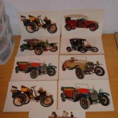 Postales: LOTE POSTALES DE AUTOMOVILES. Lote 46795534