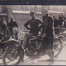 Postales: POSTAL FOTOGRAFICA SUBIDA EN CUESTA MONTSERRAT 1924. Lote 46917522