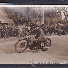 Postales: POSTAL FOTOGRAFICA CIRCUITO LEVANTE 1925. Lote 46917747