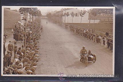 POSTAL FOTOGRAFICA CIRCUITO LEVANTE 1925 (Postales - Postales Temáticas - Coches y Automóviles)