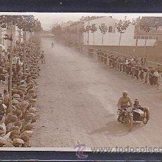 Postales: POSTAL FOTOGRAFICA CIRCUITO LEVANTE 1925. Lote 46917758