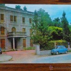 Postales: POSTAL DE VILADA CON COCHE SEAT 600 (RESIDENCIA HOTEL). Lote 47433569